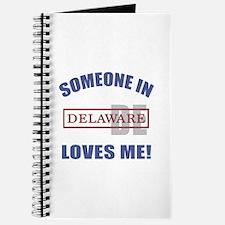 Someone In Delaware Loves Me Journal