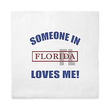 Someone In Florida Loves Me Queen Duvet