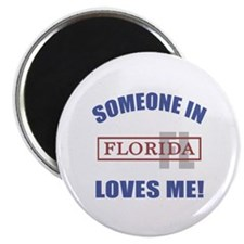 Someone In Florida Loves Me Magnet