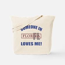 Someone In Florida Loves Me Tote Bag