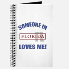 Someone In Florida Loves Me Journal