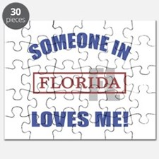 Someone In Florida Loves Me Puzzle