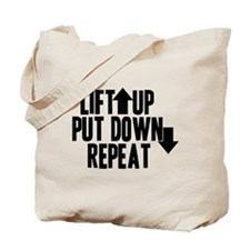 Lift Up Put Down Tote Bag
