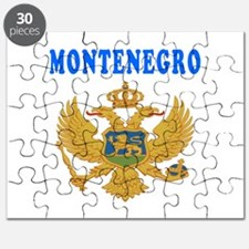 Montenegro Coat Of Arms Designs Puzzle