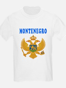 Montenegro Coat Of Arms Designs T-Shirt