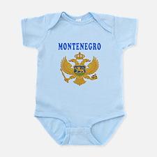 Montenegro Coat Of Arms Designs Onesie