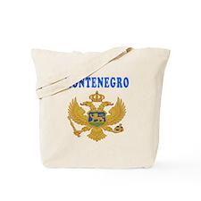 Montenegro Coat Of Arms Designs Tote Bag