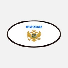 Montenegro Coat Of Arms Designs Patches