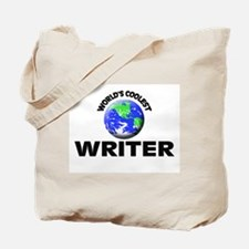 World's Coolest Writer Tote Bag