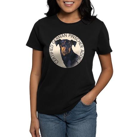 German Pinscher Addict Women's Dark T-Shirt