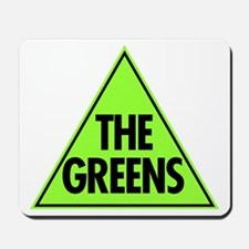 Green Party Logo Mousepad