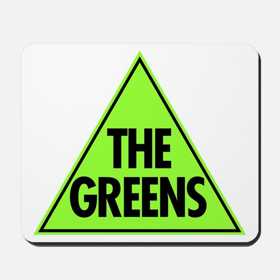 Green Party Logo Mousepad