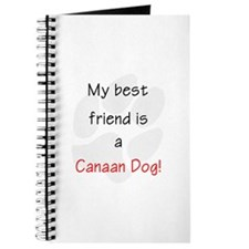 My best friend is a Canaan Dog Journal