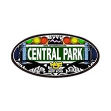 Central Park Manhattan NYC (Black) Patches