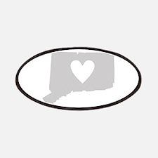 Heart Connecticut Patches