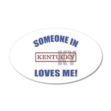Someone In Kentucky Loves Me Wall Decal