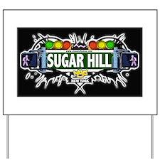 Sugar Hill Manhattan NYC (Black) Yard Sign