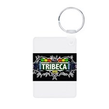 Tribeca Manhattan NYC (Black) Keychains