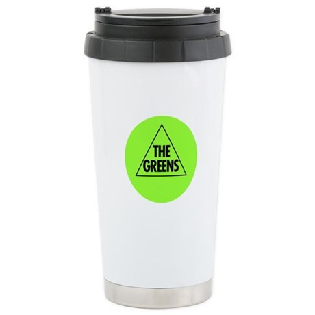 Green Party Logo Stainless Steel Travel Mug