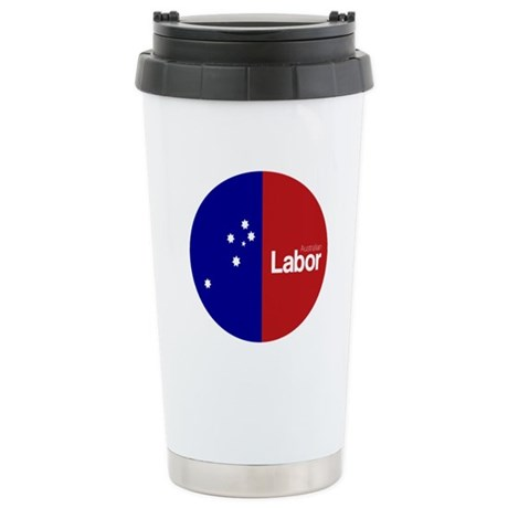 Labor Party Logo Stainless Steel Travel Mug