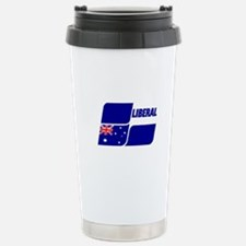 Liberal Party Logo Stainless Steel Travel Mug