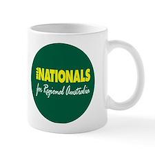 Nationals sq Small Mug