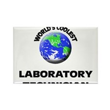 World's Coolest Laboratory Technician Rectangle Ma