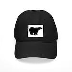 Polar Bear Graphic Black Cap