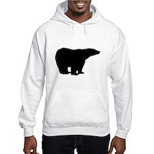 Polar Bear Graphic Hoodie Sweatshirt