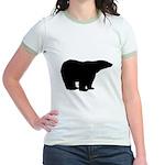 Polar Bear Graphic Jr. Ringer T-Shirt