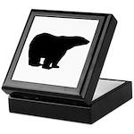 Polar Bear Graphic Keepsake Box