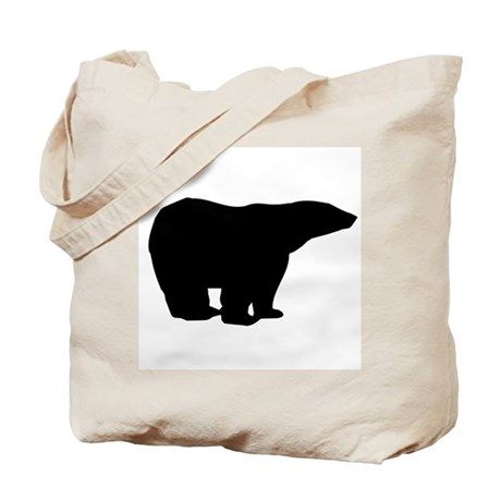 Polar Bear Graphic Tote Bag