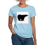 Polar Bear Graphic Women's Pink T-Shirt