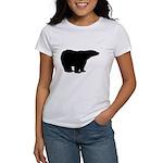 Polar Bear Graphic Women's T-Shirt