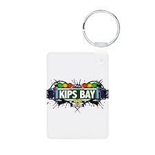 Kips Bay Manhattan NYC (White) Keychains