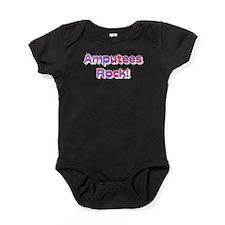 Amputees Rock! Baby Bodysuit