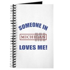Someone In Michigan Loves Me Journal