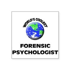 World's Coolest Forensic Psychologist Sticker