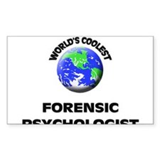 World's Coolest Forensic Psychologist Decal