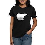 Polar Bear Graphic Women's Dark T-Shirt