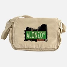 ALONZO ROAD, QUEENS, NYC Messenger Bag