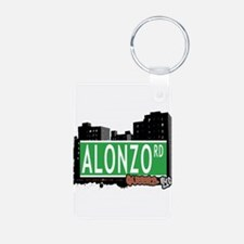 ALONZO ROAD, QUEENS, NYC Keychains