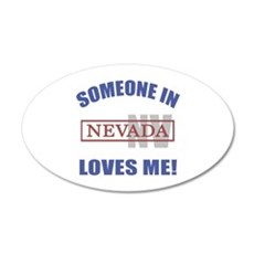 Someone In Nevada Loves Me Wall Decal