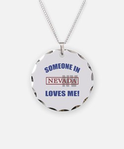 Someone In Nevada Loves Me Necklace