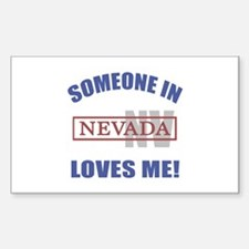 Someone In Nevada Loves Me Decal
