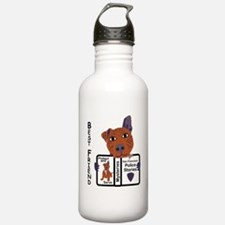 Police Dog Water Bottle