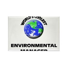 World's Coolest Environmental Manager Rectangle Ma