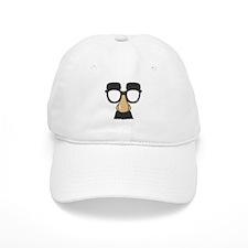 Funny Glasses with Mustache Baseball Baseball Cap
