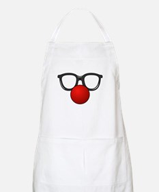 Funny Glasses with Clown Nose Apron