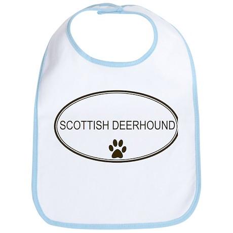 Oval Scottish Deerhound Bib